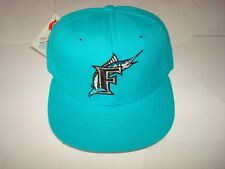 fa259200c44582 FLORIDA MARLINS NEW ERA 1994 DEADSTOCK VINTAGE 90S SCRIPT HAT CAP FITTED 7 3 /8