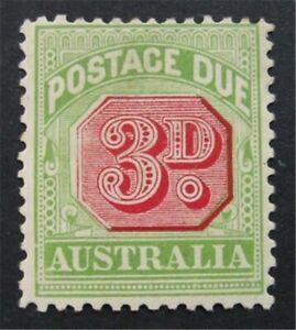 nystamps British Australia Stamp # J42 Mint OG H     S24x1524