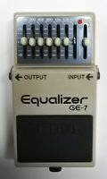 BOSS GE-7 Equalizer Guitar Effects Pedal 1992 #243 made in Japan Free Shipping