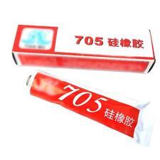 High Temperature Sealant Adhesive Glue Glass Metal 705 Metal Silicone Rub QA