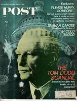 1968 Saturday Evening Post January 13 - Truman Capote In Cold Blood; Frank Zappa