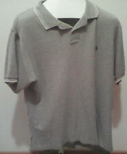 Ralph Lauren Polo XL Polo Shirt - Grey- Trim Fit
