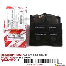 LEXUS GS / IS SERIES FACTORY FACTORY OEM FRONT BRAKE PADS KIT SET 04465-30500
