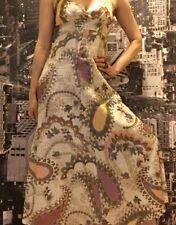 Amazing Leona Edmiston Maxi Dress, Size 1, AU 8 - 10. Paisley.