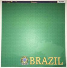 4 Sheets 12x12 Double Sided Scrapbook Paper Reminisce Brazil PSP-012 Olympics