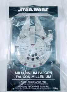 Disney Star Wars Millennium Falcon Wireless Fast Charging Pad Apple Samsung New