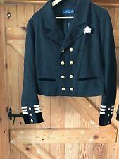 Ralph Lauren Polo Black Blazer military size 10 US bnwt