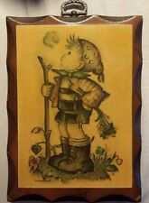 Wooden Pictorial Decorative Wall Plaques