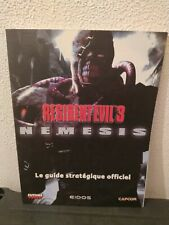 Guide Stratégique Officiel Resident Evil 3 Nemesis - Futurepress Eidos Capcom VF