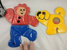 Johnson & Johnson Boy & Dog Plastic Toys Playpath Folding