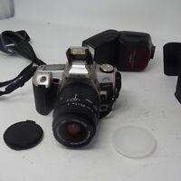 Minolta XTsi Maxxum SLR Camera Minolta AF Zoom 28-80 Sigma Zoom Lens