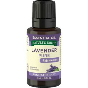 Nature's Truth Aromatherapy Pure Essential Oil,Lavender 0.51 oz(3 pack)