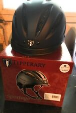 Tipperary Sportage Western Riding Helmet Low Profile Horse Safety Navy Blue