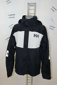 Helly Hansen Mens Helly Tech Hooded Sailing Yachting Jacket sz Large