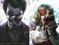 DCEASED Francisco Mattina JOKER and HARLEY Zombie Love Set Ships 10-2-19