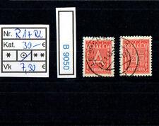 (B9050) GG Nr. R 1 + R 2  Rundfunkmarken Kat. 30.-€