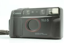 【Near MINT】 Canon Autoboy TELE 6 DATE 35mm Point & Shoot Film Camera From JAPAN