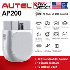 Autel Maxi AP200 Bluetooth OBD2 Car Code Reader Auto Diagnostic Tool Full System
