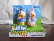 Fisher Price Little People Donald Duck Daisy Magic Disney NEW Mickey's friend
