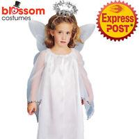 A725 Child Angel Wings Halo Headband Christmas Xmas Girls Costume Accessory Kit