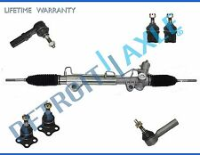 7pc Complete Power Steering Rack and Pinion Suspension Kit for Dodge Dakota 4x4