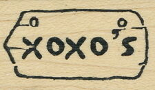 Art Impressions - Rubber Stamp - 'XOXO's' - D-3230