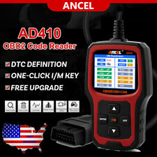 EOBD OBD2 Scanner Car Check Engine Fault Code Reader Diagnostic Tool I/M Hot Key