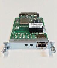 Cisco VWIC3-1MFT-T1/E1 1-port Multiflex Voice/WAN Interface Card