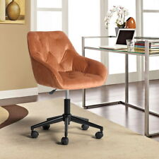 Velvet Office Chair Swivel Accent Home Office Computer Desk Chairs Adjustable