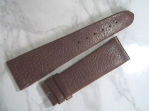VINTAGE NOS 1970'S 22X16 MM ROLEX BROWN LEATHER BAND STRAP                 *6873