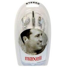 Auriculares blancos Maxell
