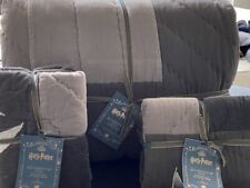 POTTERY BARN TEEN HARRY POTTER QUIDDITCH Quilt SET 3PCT