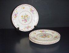 Pope Gosser Royal Dresden Bread Plates #1019 Set 6