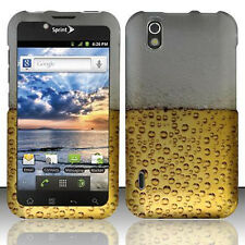 For LG Marquee Rubberized HARD Protector Case Snap on Phone Cover Beer