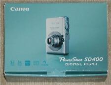 Canon Powershot Sd400 ~ Digital Elph Box & All Manuals ~ No Camera