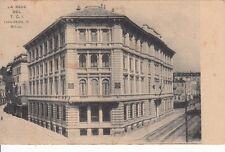 A761) MILANO, LA SEDE DEL TCI, AL VERSO CONSOLE DI GUSSOLA (CREMONA).