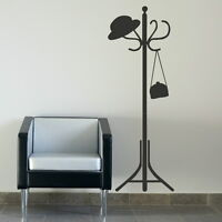Coat Rack Giant Removable Wall Sticker / Wall Decal Large Vinyl Transfers RA185
