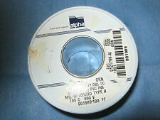 Alpha Wire 1851-GRN, PN: 001989 PVC Insulated  Wire.  100 Feet.  New Old Stock<