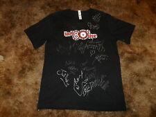 LOST 80'S LIVE SIGNED CONCERT EVENT T-SHIRT EIGHTIES MUSIC