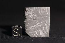 Muonionalusta meteorite etched part slice 12.7 grams!