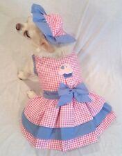 Harness Dress/Dog Dress/Dog clothes/Cupcake Cutie Set XS,S,M,L, XL FREE SHIP