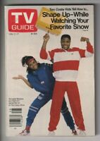 Tv Guide Mag Tempestt Bledsoe Malcolm Jamal Warner July 11-17, 1987 110319nonr