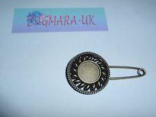 * Nueva * Vintage Sol Pin Broche Bufanda Chal Hebilla de cinturón