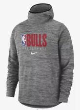 Chicago Bulls Nike Spotlight Pullover Hoodie Jordan Gray 3XL Therma NWT