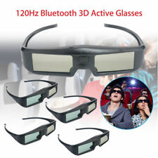 5Pcs Theater 3D Active Shutter Glasses DLP-Link Fr Sony Dell Panasonic Projector