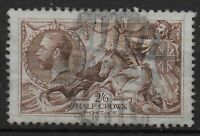 SG415. 2s6d.Reddish Brown. Well Centred. Fine Used With Light Parcel Cancel:0279