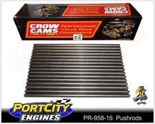 """Superduty Pushrods Holden Chev V8 LS1 5.7L 7.450"""" + 0.050"""" 5/16"""" .080"""" PR-958-16"""