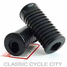 Honda CA CL 100 100S 125A 125S 175 Gummi Fußraste Set Fußrastengummi Rubber Step