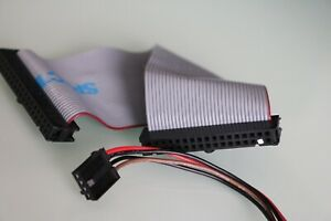 2 X Floppy Cable & Power/Voltage Cable (Pen) Commodore Amiga 500 Disk Drive