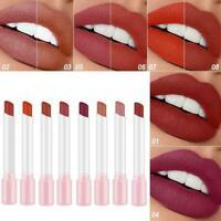 8 Farben Matte Lippenstift wasserdicht Sexy Frauen Make Up Supplies Kosmeti W6Z9